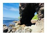 Арка,рядом с тоннелем,  справа от устья реки Островка.  Просмотров: 18 Комментариев:
