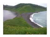 мыс Евстафия о.Сахалин Фотограф: gadzila море, песок, сопки  Просмотров: 4495 Комментариев: 1