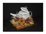 """конфетница """"Чайник"""" 5 конфет Бабаевские Трюфельный крем. чайник заполняется сладостями по желанию  Просмотров: 1070 Комментариев: 0"""