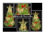 совсем скоро Новый год!... высота елочки 45см. использованы конфеты феррейро роше. конфеты вынимаются не нарушая целостности елки. Оригинальный подарок к новому году или украшение праздничного стола.  Просмотров: 1963 Комментариев: 1