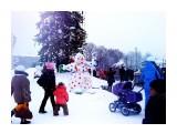 Снеговик.. душа нараспашку.. Фотограф: vikirin  Просмотров: 2541 Комментариев: 0