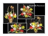 тюльпаны сладкая корзинка тюльпанов - оригинальный подарок к любому празднику.  Просмотров: 1482 Комментариев: 0