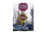 """Название: Если в Канаде ставят новый знак — к нему добавляют временную табличку """"New"""". Это снимается много вопросов и знак сразу обращает на себя внимание. Фотоальбом: Авто Категория: Авто, мото  Просмотров: 120 Комментариев: 0"""