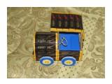 Машинка 28 шоколадок Roshen (горький и с орехами)  возможно изготовление на заказ. Фантазия и возможности альбомом не ограничены :))  Просмотров: 1010 Комментариев: 0