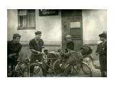 Велопоход в Охотское. 1963 г. Черемушки. У городского клуба туристов.  Просмотров: 367 Комментариев: 0