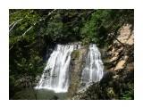 Вид с небольшой возвышенности на Черемшанский водопад! Фотограф: viktorb  Просмотров: 1283 Комментариев: 0