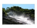 Водопад.. Рассыпанная в воздухе прохлада.. Фотограф: vikirin  Просмотров: 1370 Комментариев: 0