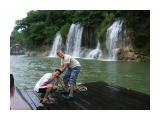 Утро на плоту Антон и Лёха. Утро на реке Квай, провинция Канчанабури.   Просмотров: 5372 Комментариев: