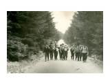 """Сахалин, пейзаж, туризм 1962 год,туристы на пути к реке """"Очиха"""". Руководитель - Донов В.С.  Просмотров: 529 Комментариев: 0"""