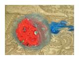 ручной букет роз 17 конфет :))  возможно изготовление на заказ. Фантазия и возможности альбомом не ограничены :))  Просмотров: 1196 Комментариев: 0
