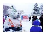 Зимний шедевр.. кажется это мыфка... Фотограф: vikirin  Просмотров: 2691 Комментариев: 0