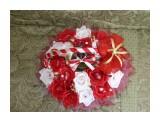 корзина красно-белых роз 19 конфет Raffaello и бутылка мартини  возможно изготовление на заказ. Фантазия и возможности альбомом не ограничены :))  Просмотров: 1674 Комментариев: 0
