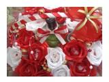 корзина красно-белых роз 19 конфет Raffaello и бутылка мартини  возможно изготовление на заказ. Фантазия и возможности альбомом не ограничены :))  Просмотров: 1943 Комментариев: 0