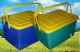 Контейнер-корзина для пикника  пластиковая