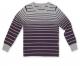 Джемпер для мальчика Born фиолетовый/серый