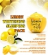 Маска для лица Baviphat Lemon Whitening Sleeping Pack ночная отбеливающая