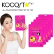 Маска для лица антивозрастная с желе кокоса Kocostar Coconut Jelly Vio-Xellose Facial Mask 25 мл