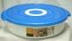 Контейнер пластиковый Galaxy с пароваркой для микроволновой печи, 2.6 л