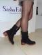 Ботинки зимние Sasha Fabiani черные