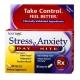 Здоровый сон Natrol Stress & Anxiety Day+Nite/30+30 табл.