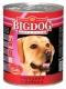 Консервированный корм для взрослых собак крупных пород Зоогурман Big Dog 850 г