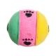 Игрушка для кошек Triol Мяч лапки, трехцветный (45 мм)