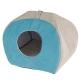 Домик для кошек и собак Ferplast Tulip Medium голубой
