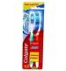 Зубная щетка Colgate Тройное действие, средняя жесткость 2 шт.