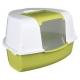 Угловой туалет  Tadeo Open Top 58*38*50 см зелен/бел