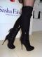 Сапоги зимние на каблуке Sasha Fabiani