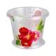 Горшок 1л Вальс цветов  д/орхидей (прозр)