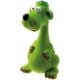 Игрушка для собак  Собака большая,  21 см, латекс