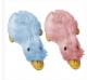 Игрушка для собак  Multipet Утка меховая цветная малая с пищалкой