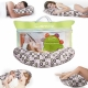 Подушка -бумеранг  для беременных  и кормящих Экотен Lumf 512 CO-09