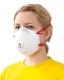 Полумаска фильтрующая (респиратор) для защиты от пыли и туманов с клапаном выдоха 8833 (FFP3, до 50 ПДК)