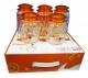 Набор стеклянных банок  Orang, 5 штук по 640 мл (в коробке)
