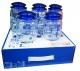 Набор стеклянных банок  Blue, 5 штук  по 640 мл  (в коробке)
