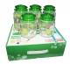Набор стеклянных банок  Green, 5 штук  по 640 мл (в коробке)