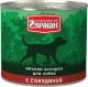 Консервированный корм для собак Четвероногий гурман Мясное ассорти