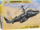 Конструктор пластиковый Zvezda Российский боевой вертолет Ка-52 Аллигатор