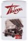 Зажигалка бензиновая Из России с любовью, цвет белый