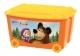 Ящик д/игрушек 580*390*335 на колесах с аппликацией
