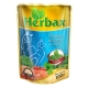 Консервированный корм для кошек Herbax  Рыбное ассорти в соусе с мятой, 100 г пауч