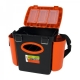 Ящик зимний FishBox (10л) оранжевый Helios
