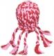 Япония  Осьминог плетенный с латексным мячом игр для собак